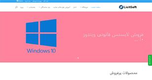 طراحی سایت LicitSoft.com